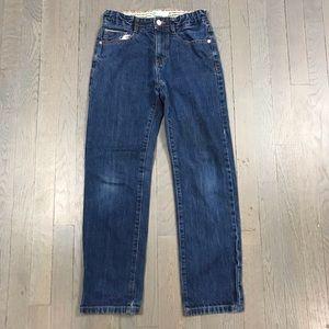 Boden Girls Kids 11Y Straight Leg Blue Denim Jeans